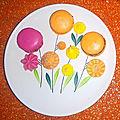 Art culinaire avec des macarons
