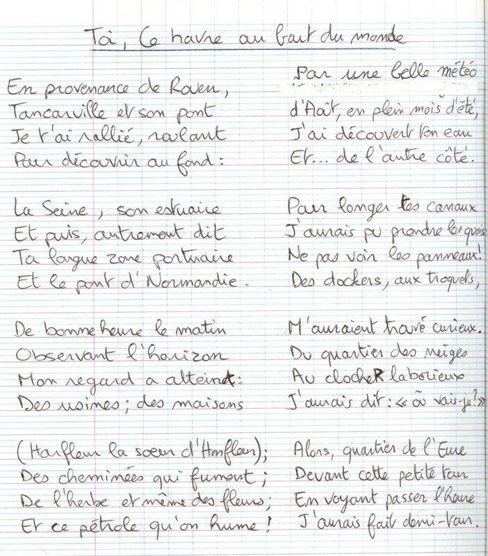 Poème En Forme De Ballade Touristique Et Initiatique Au