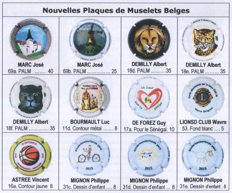 Caps Belges