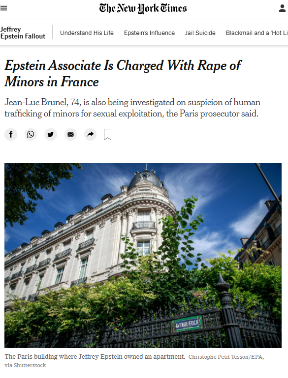 2021-02-10 12_24_34-Epstein Associate Is Charged With Rape of Minors in France - The New York Times