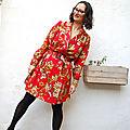 Robe Passiflore Mamy fleurie 02