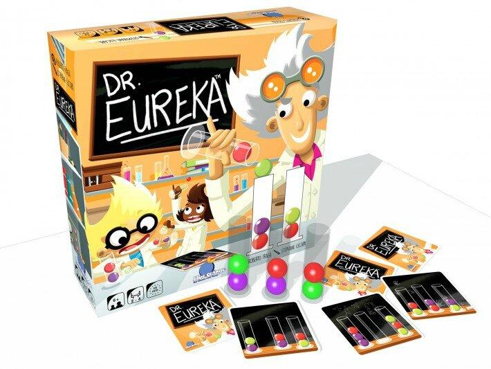 Boutique jeux de société - Pontivy - morbihan - ludis factory - Docteur Eureka