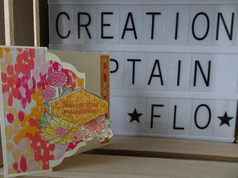 29d Carte Fleurs décorées