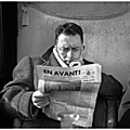 Albert camus à paris