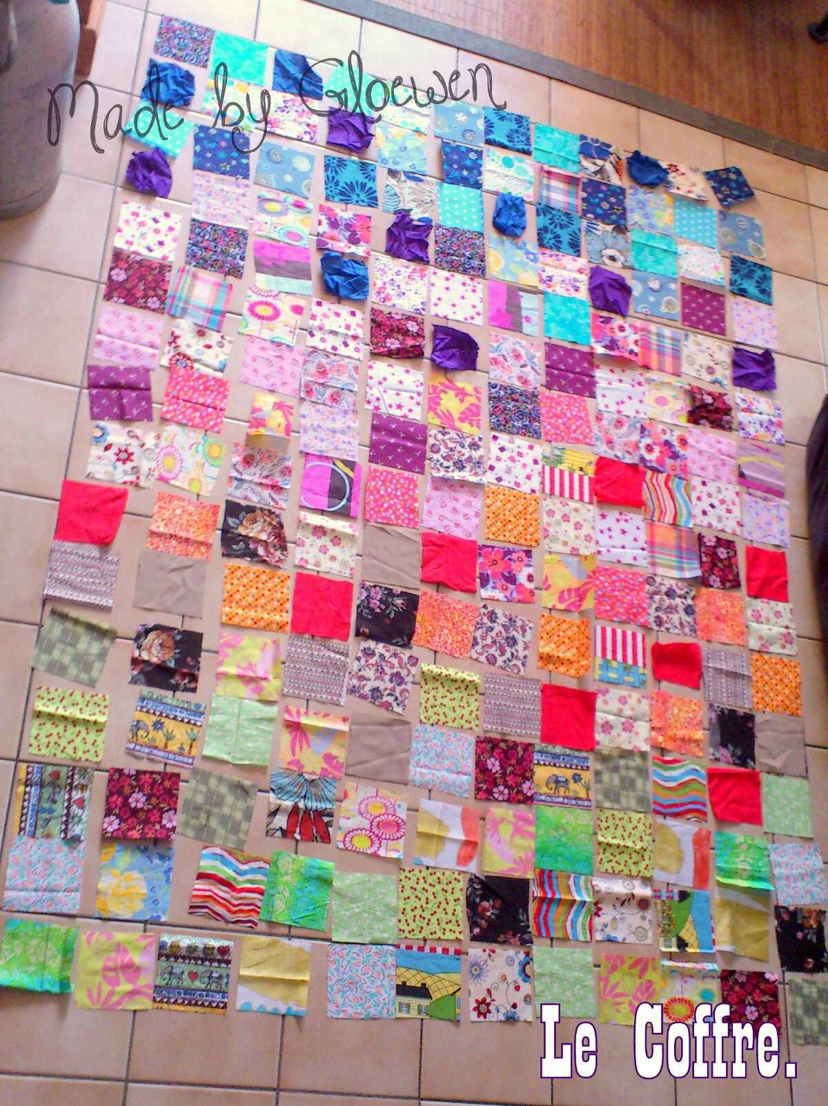 Tuto Couverture Patchwork Facile à Réaliser Diy Couture Le