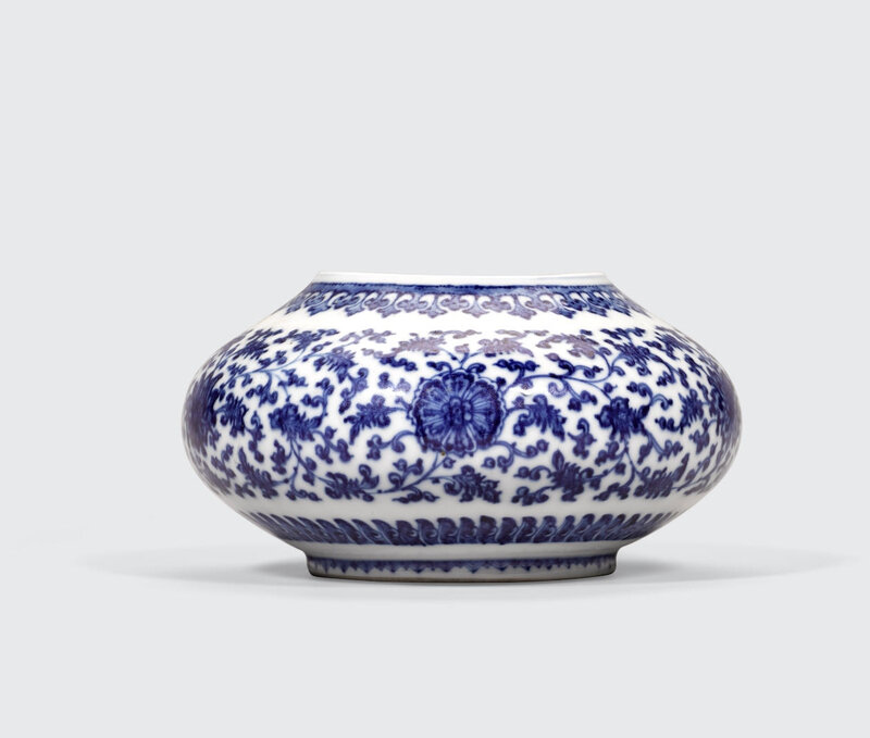 blue and white soft paste porcelain bowl 18th century