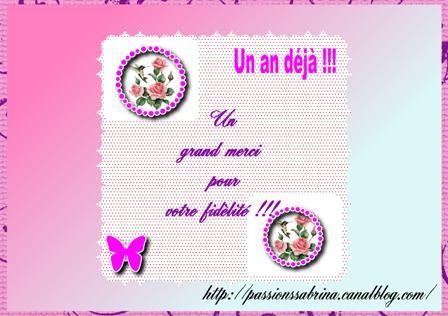 Joyeux Anniversaire A Ton Blog Sabrina Douceur De Laine