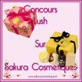 Sakura cosmétiques : le concours lush