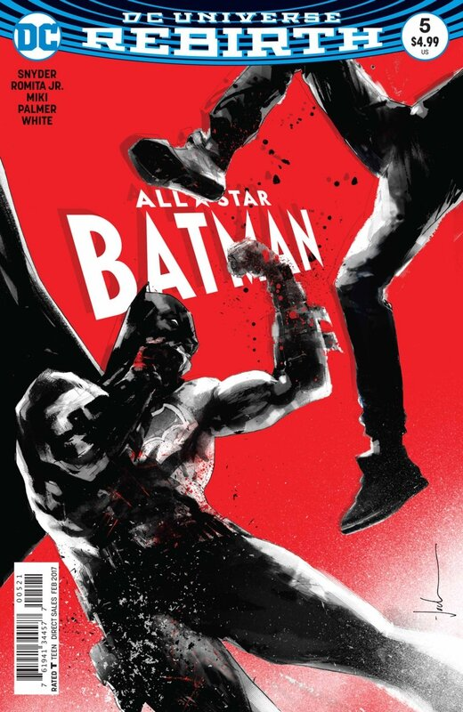 rebirth all star batman 05 jock variant