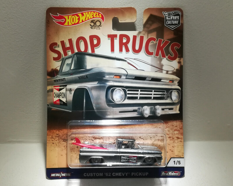 Chevrolet Pickup Custom de 1962 (Hotwheels)