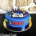 Gâteau lego star wars