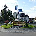 Rond-point à porrentruy (suisse)