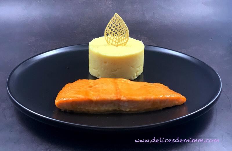 Filet de saumon laqué au sirop d'érable 2