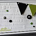 40. blanc, vert, noir et gris - graphique