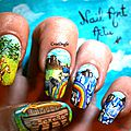 Nail Art Arche de Noé CrocOngle