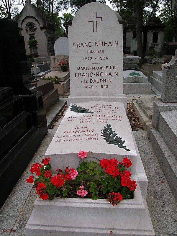 Jean Nohain et Claude Dauphin