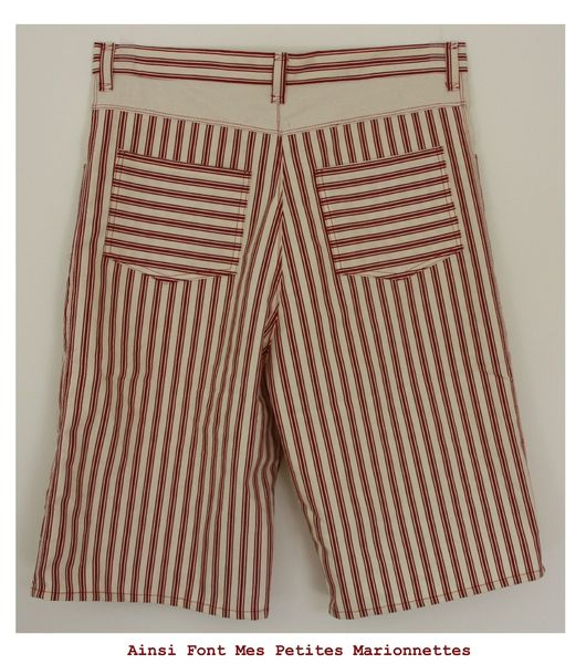 short rouge charly 2