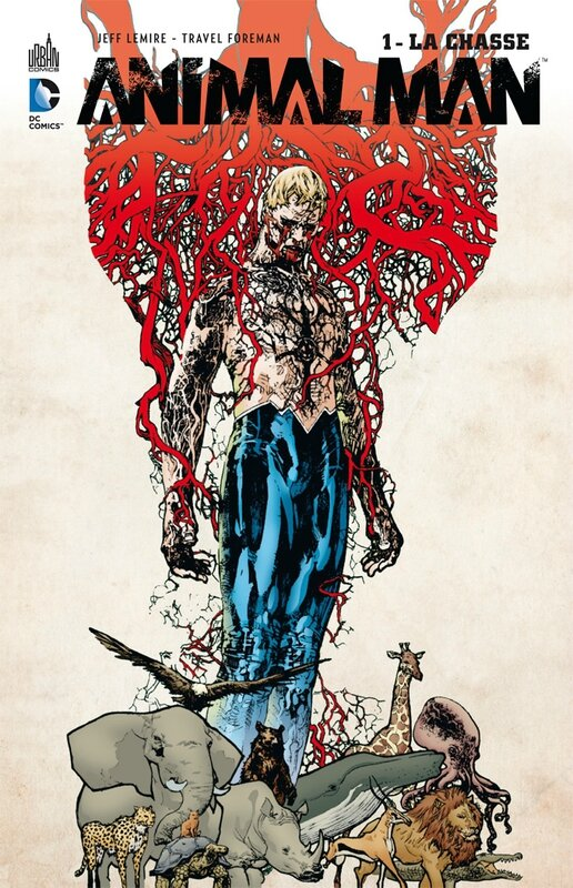 Urban DC Animal Man par Jeff Lemire