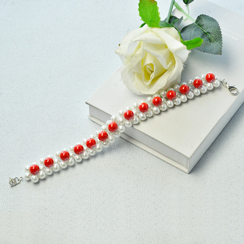 Tutorial-on-Making-a-Pearl-Beads-Stitch-Bracelet-6