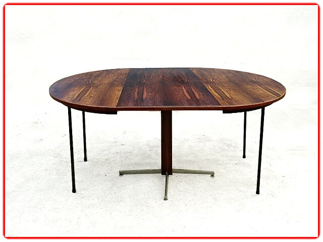 Table moderniste J. Zalszupin jacaranda 1960