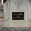 Labbe jean (lourouer saint laurent) + 23/07/1918 aubvillers (80)