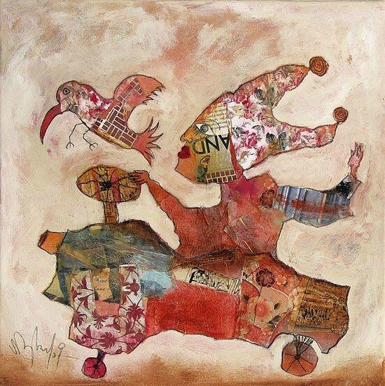 DEPADOVA sans titre 2009 40 x 40