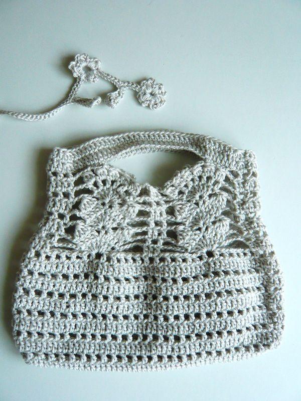 Japan crochet sac #1