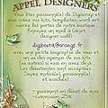Designer call db