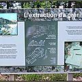 Extraction du granite