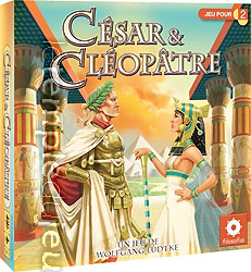 boutique jeux de société - pontivy - morbihan - ludis factory - César et Cléopatre
