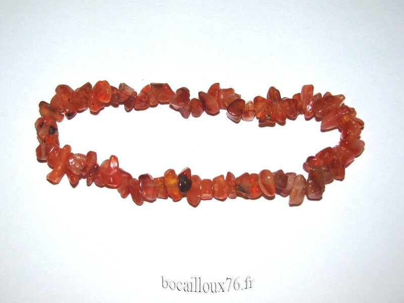 Bracelet CORNALINE 10 Chips (3)