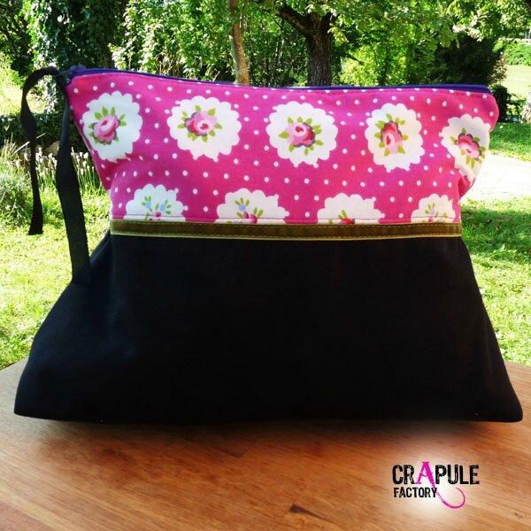 grosse-trousse-de-toilette-retro-chic-ma-biche-rose fleur et noir ruban velour vert3600 600