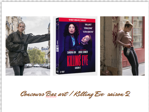 concours killing eve