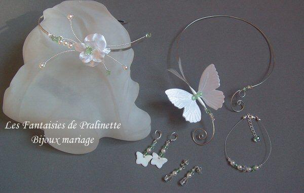 Bijoux mariage personnalisés