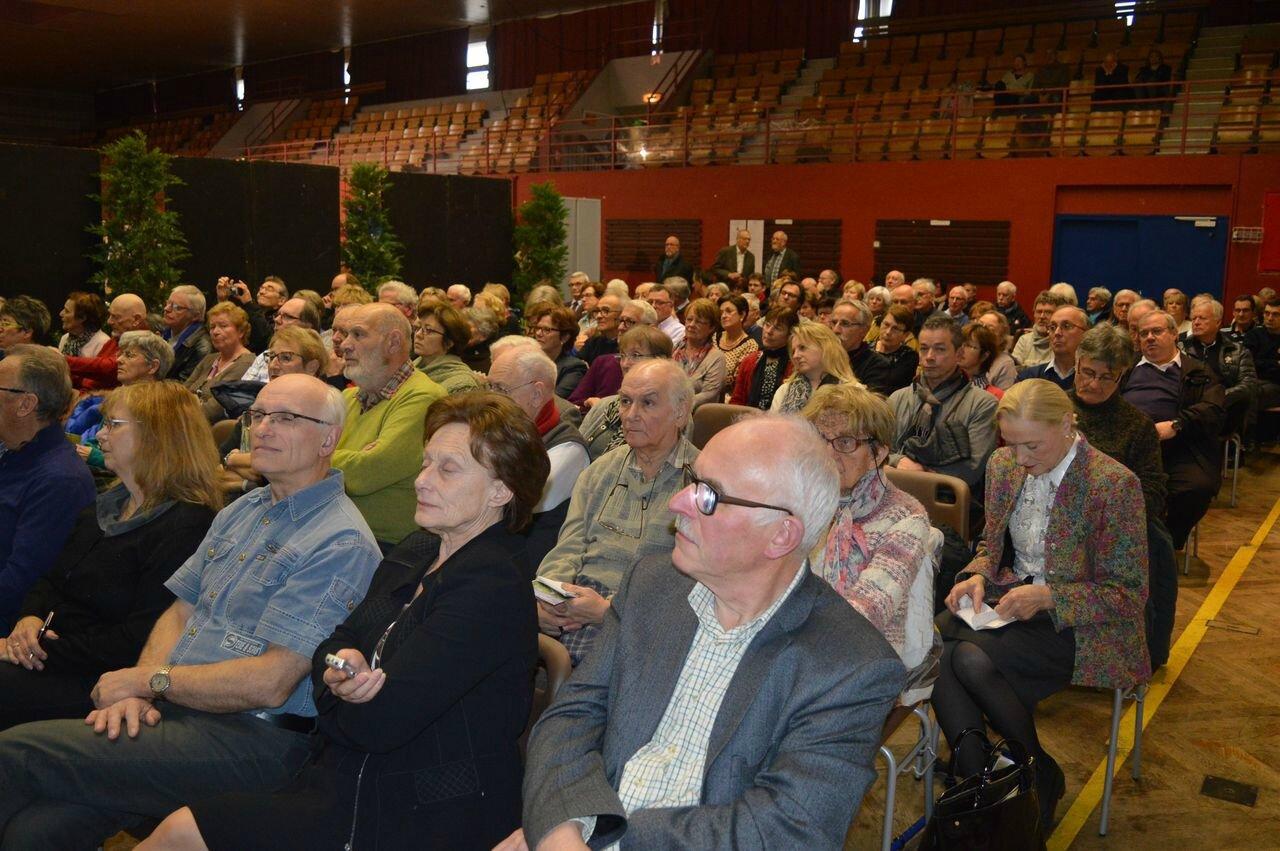... devant un public à nouveau très nombreux !