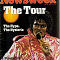 The tour, the money, the magic - newsweek, 16 juillet 1984