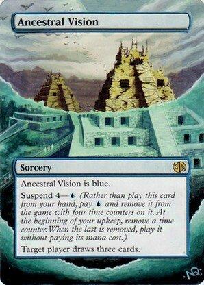 Vision ancestrale Altéré
