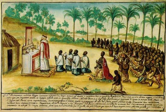 Conversion des Ne Kongo par les Mindele