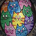 Le chat coloré de danièle29, 1ère inscrite