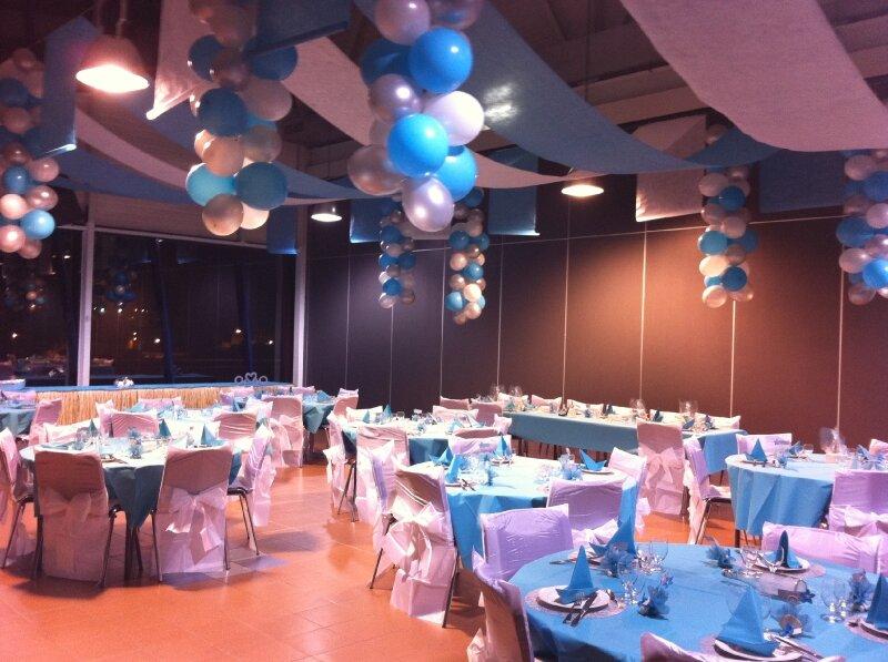 Mariage décoration blanc et bleu , Photo de 2010/09, Mariage