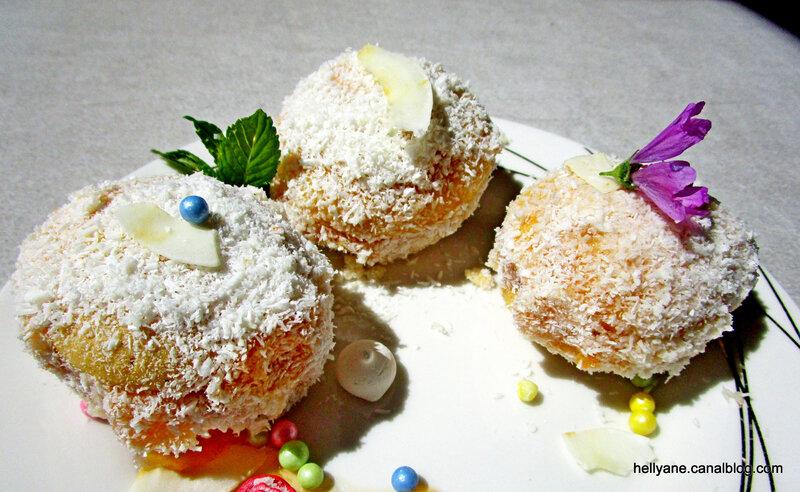 boules coco abricot
