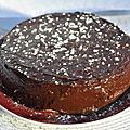 Recette de gateau moelleux au chocolat - sans farine, sans lait & sans levure