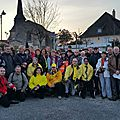 Saint gence : réussite pour la journée du téléthon du 28 novembre 2015