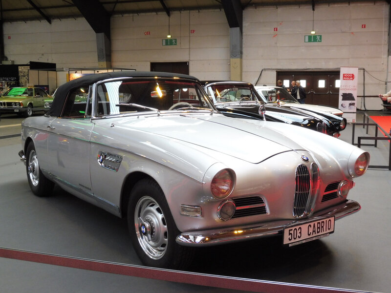 BMW 503 cabriolet Strasbourg (1)