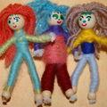 poupées en laine !!!