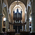 Église notre-dame de saint-calais (sarthe) - intérieur