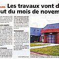 Ouf! enfin une nouvelle mairie pour la commune