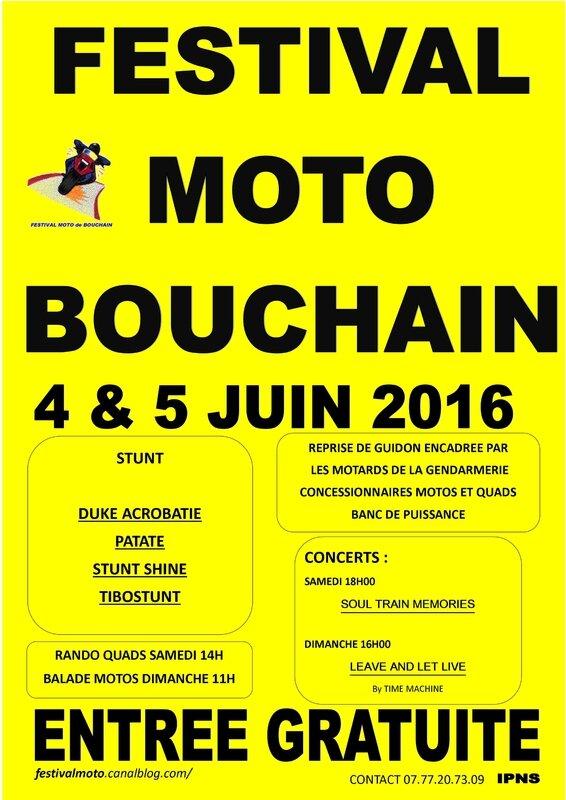 Bouchain affiche jaune 2016