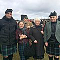 Culloden Ceremony 16 Avril 2016