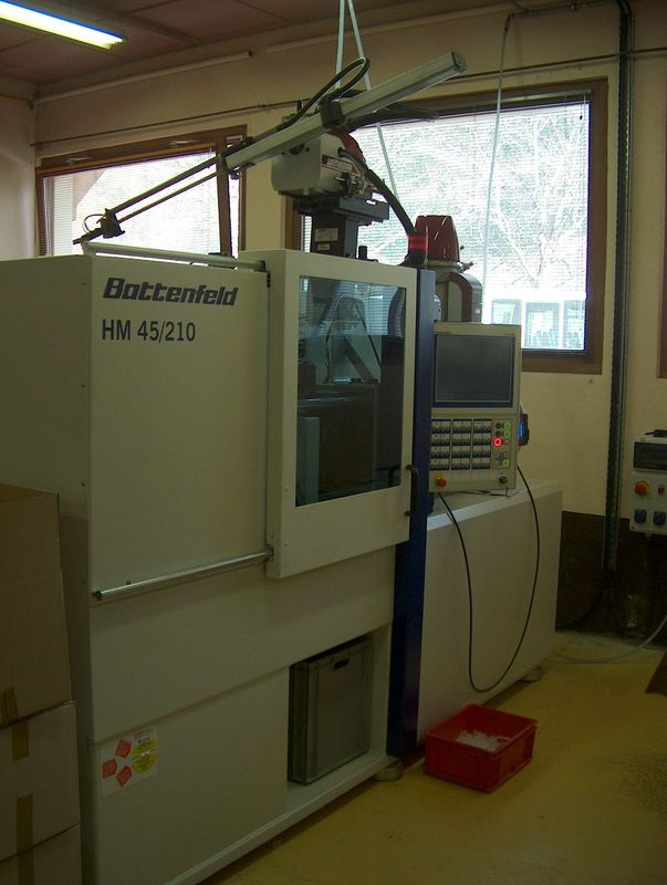 Nouvelle machine Battenfeld HM45/210 - 22/03/10